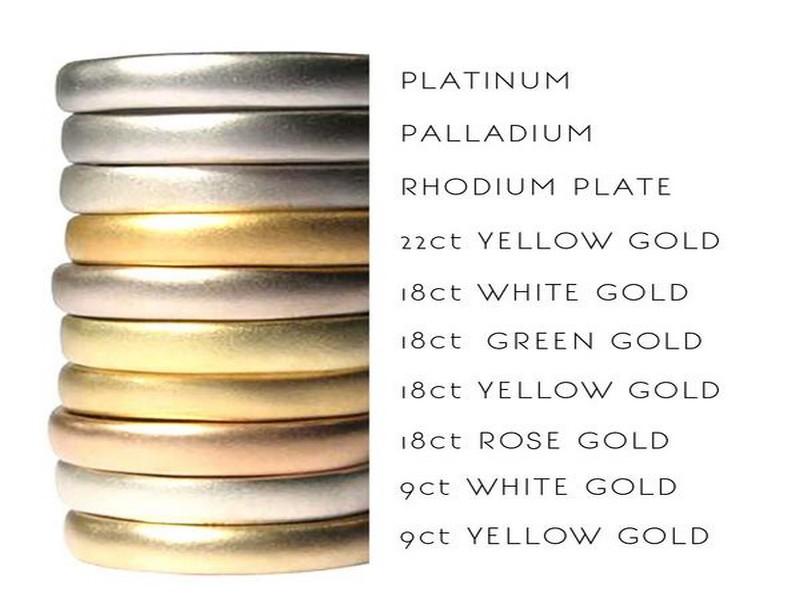 метал обручальных колец