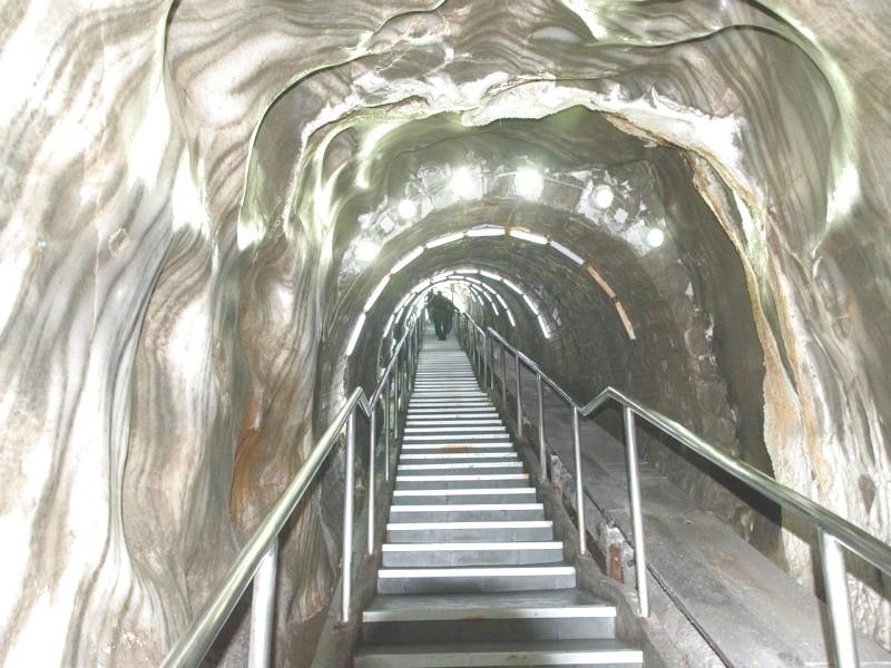 соляные пещеры спуск