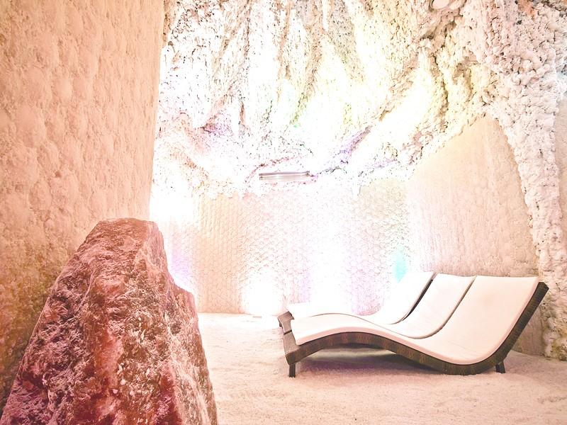 релакс в соляной пещере