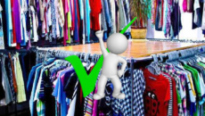 выбрать одежду в секонд хенде