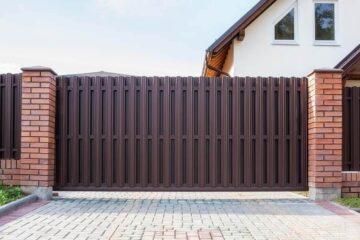 откатные ворота и заборы